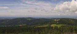 Archiv Foto Webcam Waldkirchen - Aussichtsturm Oberfrauenwald 11:00