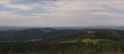 Archiv Foto Webcam Waldkirchen - Aussichtsturm Oberfrauenwald 13:00