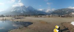 Archiv Foto Webcam Tiroler Zugspitz Arena - Golfplatz Ehrwald-Lermoos 07:00