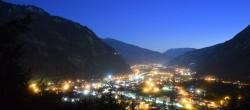 Archiv Foto Webcam Mayrhofen im Zillertal - Ortsblick 22:00