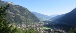 Archiv Foto Webcam Mayrhofen im Zillertal - Ortsblick 02:00