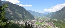 Archiv Foto Webcam Mayrhofen im Zillertal - Ortsblick 08:00