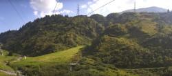 Archived image Webcam Stuben am Arlberg - Town View 08:00