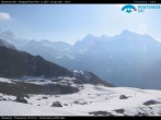 Archiv Foto Webcam Monterosa Ski - Antagnod Bergstation 02:00