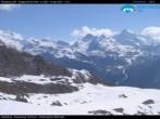 Archiv Foto Webcam Monterosa Ski - Antagnod Bergstation 04:00