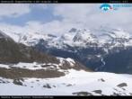 Archiv Foto Webcam Monterosa Ski - Antagnod Bergstation 06:00