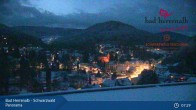 Archiv Foto Webcam Bad Herrenalb: Hotel Schwarzwald Panorama 01:00