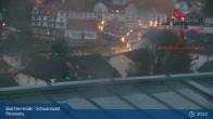 Archiv Foto Webcam Bad Herrenalb: Hotel Schwarzwald Panorama 23:00