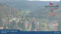 Archiv Foto Webcam Bad Herrenalb: Hotel Schwarzwald Panorama 09:00