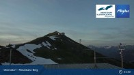 Archived image Webcam Oberstdorf - Möserbahn Top Station 19:00