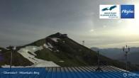 Archived image Webcam Oberstdorf - Möserbahn Top Station 01:00