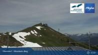 Archived image Webcam Oberstdorf - Möserbahn Top Station 05:00