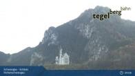 Archiv Foto Webcam Schwangau - Schloss Hohenschwangau 03:00