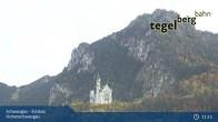 Archiv Foto Webcam Schwangau - Schloss Hohenschwangau 05:00