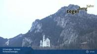 Archiv Foto Webcam Schwangau - Schloss Hohenschwangau 00:00