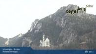Archiv Foto Webcam Schwangau - Schloss Hohenschwangau 12:00