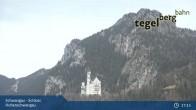 Archiv Foto Webcam Schwangau - Schloss Hohenschwangau 16:00