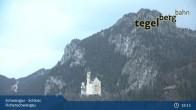 Archiv Foto Webcam Schwangau - Schloss Hohenschwangau 18:00