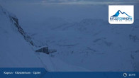 Archiv Foto Webcam Gipfelstation Kitzsteinhorn 01:00