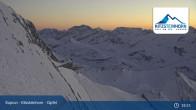 Archiv Foto Webcam Gipfelstation Kitzsteinhorn 18:00