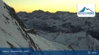 Archived image Webcam Top Station Kitzsteinhorn 19:00