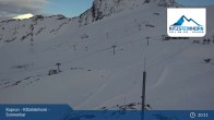 Archiv Foto Webcam Kitzsteinhorn Gletscher - Sonnenkar 19:00