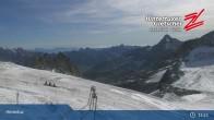 "Archiv Foto Webcam Hintertuxer Gletscher: ""Gefrorene Wand""-Gipfel 09:00"