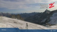 "Archiv Foto Webcam Hintertuxer Gletscher: ""Gefrorene Wand""-Gipfel 11:00"