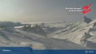 "Archiv Foto Webcam Hintertuxer Gletscher: ""Gefrorene Wand""-Gipfel 04:00"