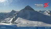 "Archiv Foto Webcam Hintertuxer Gletscher: ""Gefrorene Wand""-Gipfel 07:00"