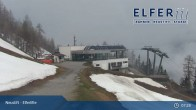 Archiv Foto Webcam Bergstation Panoramabahn Elfer (1790m) 01:00