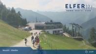 Archiv Foto Webcam Bergstation Panoramabahn Elfer (1790m) 09:00