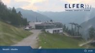 Archiv Foto Webcam Bergstation Panoramabahn Elfer (1790m) 13:00