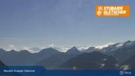 Archiv Foto Webcam Daunjochbahn, Stubaier Gletscher 03:00
