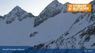 Archiv Foto Webcam Stubaier Gletscher: Daunjochbahn 23:00