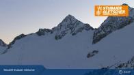 Archiv Foto Webcam Stubaier Gletscher: Daunjochbahn 13:00