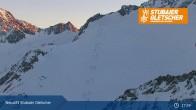 Archiv Foto Webcam Stubaier Gletscher: Daunjochbahn 19:00