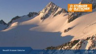 Archiv Foto Webcam Stubaier Gletscher: Daunjochbahn 01:00