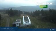 Archiv Foto Webcam Bergstation der Hochfichtbahn 19:00