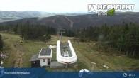 Archiv Foto Webcam Bergstation der Hochfichtbahn 07:00