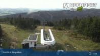 Archiv Foto Webcam Bergstation der Hochfichtbahn 09:00