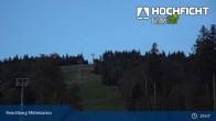 Archiv Foto Webcam Skigebiet Hochficht 19:00