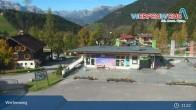 Archived image Webcam Werfenweng Base Station 8 EUB  05:00