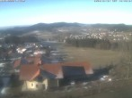 Archived image Webcam Hüttenhof hotel at Grainet 04:00