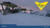 Archiv Foto Webcam Planai Bergstation 06:00