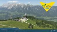 Archiv Foto Webcam Schladming: Planai Bergstation 07:00