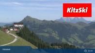 Archiv Foto Webcam Kitzbühel: Hahnenkamm Berg 05:00