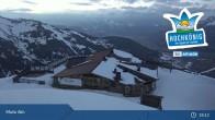 Archiv Foto Webcam Hochkönig Maria Alm: Aberg Bergstation 19:00