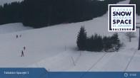 Archiv Foto Webcam Flachau: Spacejet 1 Talstation 21:00
