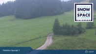 Archiv Foto Webcam Flachau: Spacejet 1 Talstation 23:00